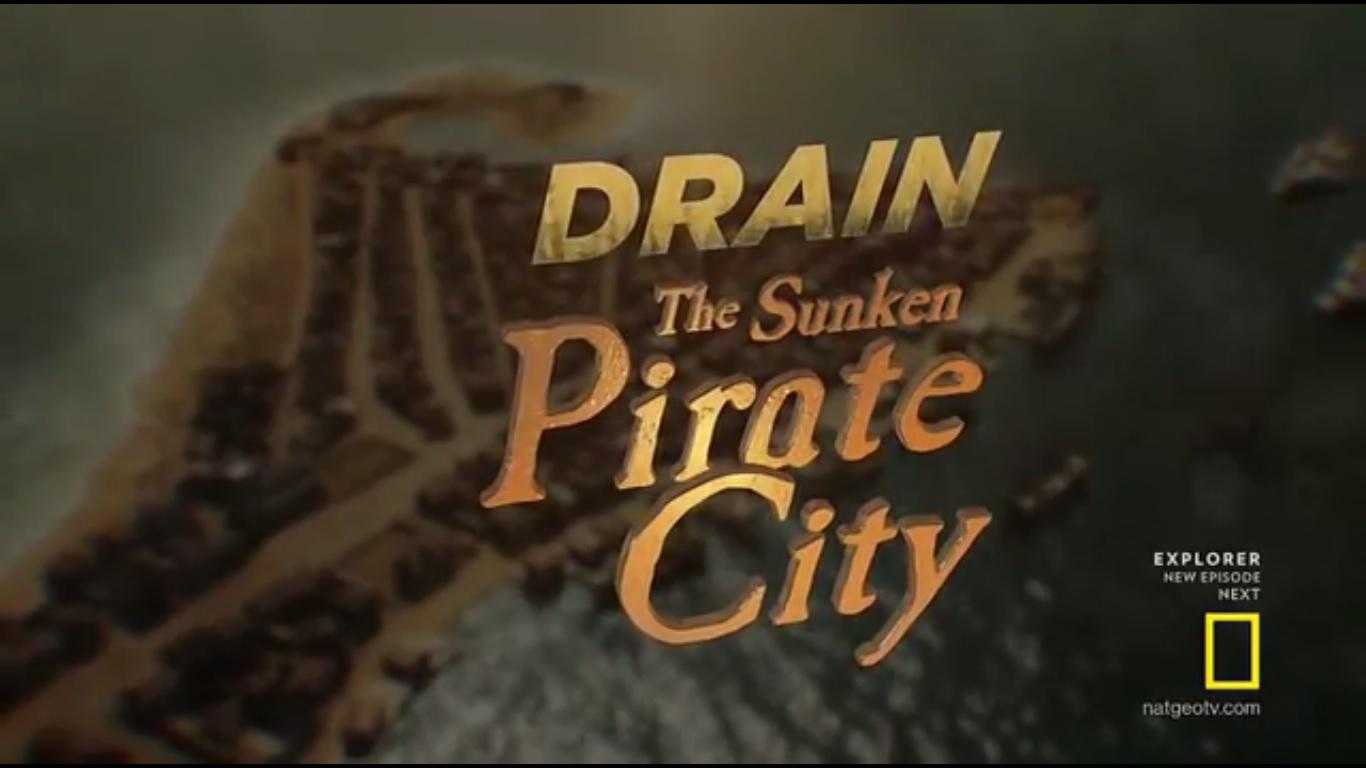 Drain the Sunken Pirate City